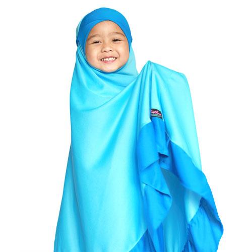 telekung-kanak-kanak-diadina-blue-coral-cat-1