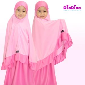 telekung-kanak-diadina-pink-marshmallow-1